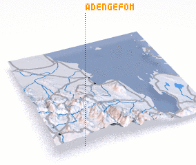 3d view of Ādengefom