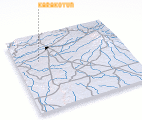 3d view of Karakoyun
