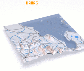 3d view of Damas