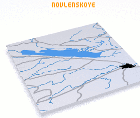 3d view of Novlenskoye