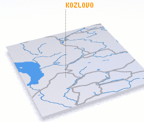 3d view of Kozlovo