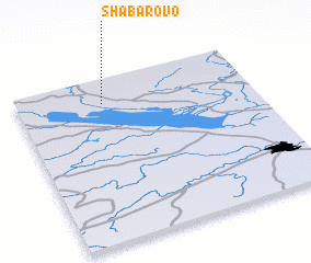 3d view of Shabarovo