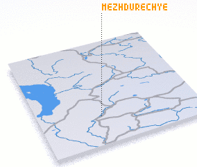 3d view of Mezhdurech\