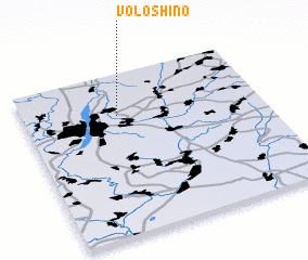 3d view of Voloshino