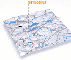3d view of Beydoğmuş