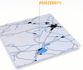 3d view of Priozërnyy