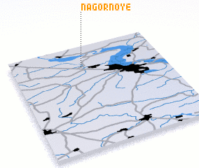 3d view of Nagornoye