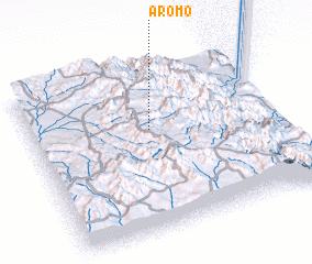 3d view of Aromo