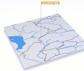 3d view of Munskaya