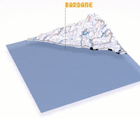3d view of Bardane