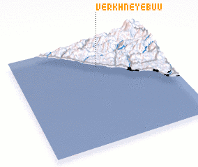 3d view of Verkhneye Buu