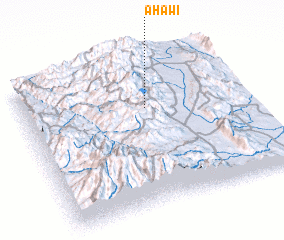 3d view of Āhawī