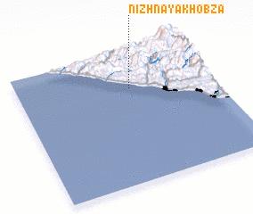 3d view of Nizhnaya Khobza