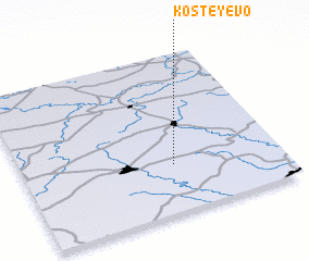 3d view of Kosteyevo