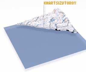 3d view of Khartsiz Vtoroy