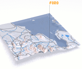3d view of Foro