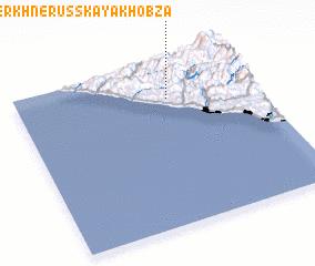 3d view of Verkhnerusskaya Khobza