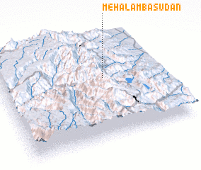 3d view of Mehal Āmba Sudan