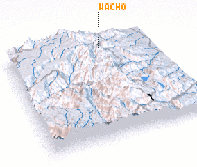 3d view of Wach'o