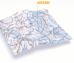 3d view of Aine Mai