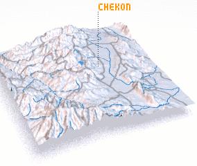3d view of Ch'ek'on