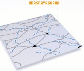 3d view of Krasnaya Gorka