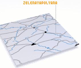 3d view of Zelënaya Polyana