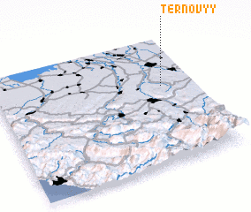 3d view of Ternovyy