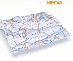 3d view of Devetaşı