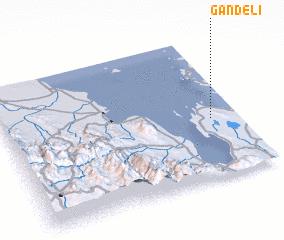 3d view of Gandeli