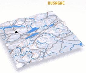 3d view of Kuşağaç