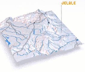 3d view of Jelalē