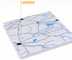 3d view of La Borde
