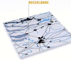 3d view of Mosselbank