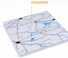 3d view of Fouchères