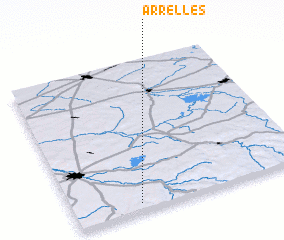 3d view of Arrelles