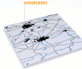 3d view of Koekelberg