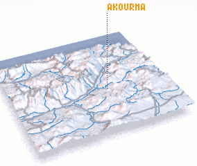 3d view of Akourma