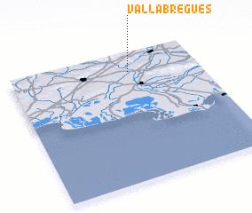 3d view of Vallabrègues