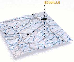 3d view of Écuville