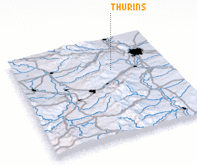 3d view of Thurins