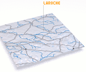 3d view of La Roche