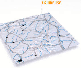 3d view of La Vineuse