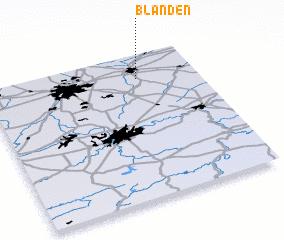 3d view of Blanden