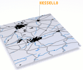 3d view of Kessel-Lo