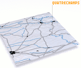 3d view of Quatre-Champs