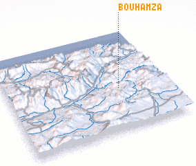 3d view of Bou Hamza