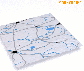3d view of Sommevoire