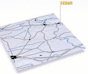 Sedan France Map Nona Net