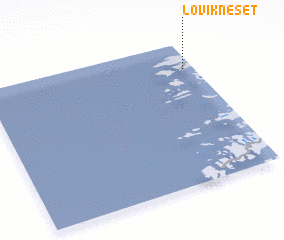 3d view of Løvikneset
